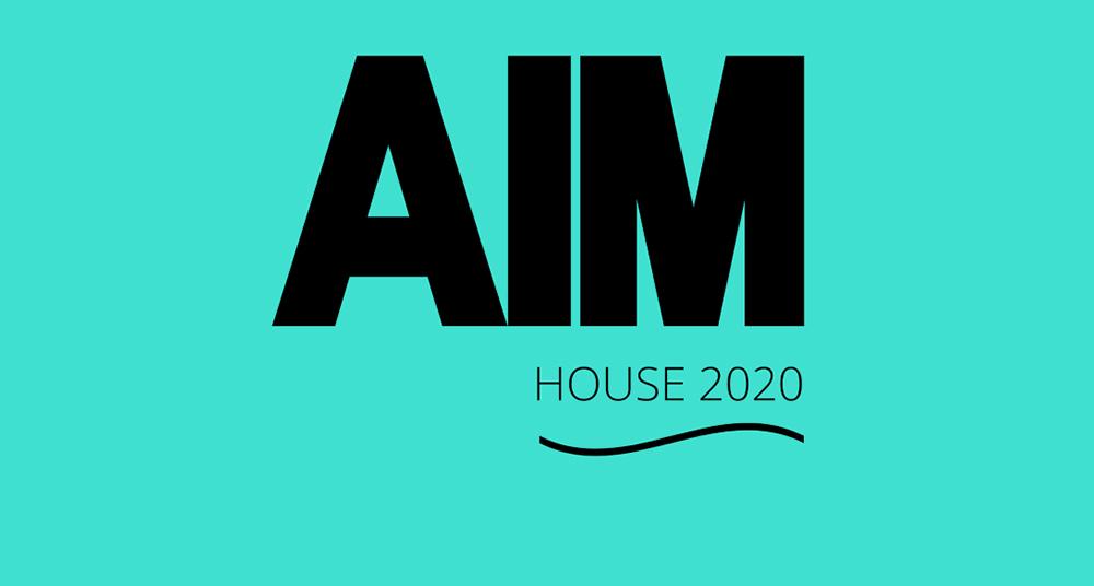 Locandina AIM HOUSE 2020